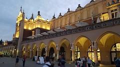 Only    O N C E? (Ladyhelen_) Tags: verses poem poetry poet words city lights walker square plaza poland krakow sukiennice townhall night rynekgłówny rynek arcade heritage renaissance neogothic clothhall