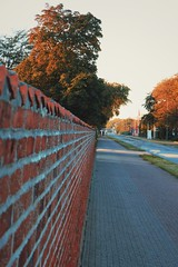 Perspective.. (erlingraahede) Tags: holstebro street autumn perspective people line view