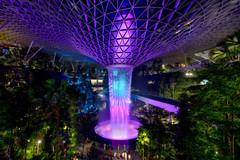 Electrify (- Etude -) Tags: zachchang singapore waterfall changi airport mall architecture 2019