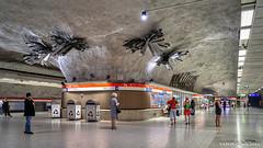 Helsinki, Finland: Kamppi metro station - Opened 1983 (nabobswims) Tags: fi finland hdr helsingfors helsinki highdynamicrange ilce6000 kamppi lightroom metro mirrorless nabob nabobswims photomatix rapidtransit sel18105g sonya6000 station subway ubahn uusimaa