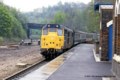 05/05/1988 - Dore & Totley, Sheffield, South Yorkshire. (53A Models) Tags: britishrail brush type2 class31 31456 diesel passenger doretotley sheffield southyorkshire train railway locomotive railroad