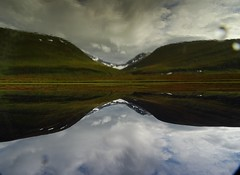 Reflections 4 (dration) Tags: lapland sweden kungsleden solohike landscape sky clouds reflection