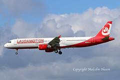 A321 D-AEUA ex OE-LCG LAUDAMOTION colours (shanairpic) Tags: jetairliner passengerjet a321 airbusa321 shannon eurowings laudamotion daeua oelcg