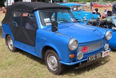 KGE 98L Trabant convertible (kitmasterbloke) Tags: aldham colchester essex rally vintagecar classiccar veterencar truck van pickup vehicle concours display motoring automobile transport outdoor