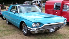 EBY 225B Ford Thunderbird (kitmasterbloke) Tags: aldham colchester essex rally vintagecar classiccar veterencar truck van pickup vehicle concours display motoring automobile transport outdoor