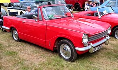 CGF 727H Triumph Herald 13_60 (kitmasterbloke) Tags: aldham colchester essex rally vintagecar classiccar veterencar truck van pickup vehicle concours display motoring automobile transport outdoor