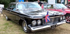 AJN 623A 1963 Chrysler Imperial Crown Four-Door 6972cc (kitmasterbloke) Tags: aldham colchester essex rally vintagecar classiccar veterencar truck van pickup vehicle concours display motoring automobile transport outdoor