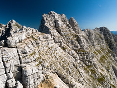 Razorblade(explore) (matteo.buriola) Tags: friuli alpi giulie sentiero ceria merlone cima de la puartate forca val mountains alps nature landscape paesaggio trekking hiking panasonic lumix gx80