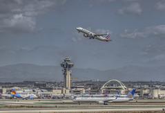 Leaving on a Jet Plane (Michael F. Nyiri) Tags: airbusa321 airplanes airplane lax losangeles losangelesinternationalairport
