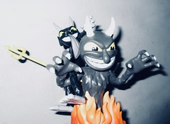 2019 Two Krampus Demon Devil Dudes 3335 (Brechtbug) Tags: 2019 krampus devil dude funko cuphead is run gun indie video game developed published by studio mdhr the player fights series bosses order repay debt demon figure christmas pop like toy toys vinyl figures spooky scary betty boop fleicher animation cartoon villain type march wooden soldiers cup head halloween