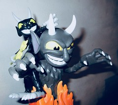 2019 Two Krampus Demon Devil Dudes 3305 (Brechtbug) Tags: 2019 krampus devil dude funko cuphead is run gun indie video game developed published by studio mdhr the player fights series bosses order repay debt demon figure christmas pop like toy toys vinyl figures spooky scary betty boop fleicher animation cartoon villain type march wooden soldiers cup head halloween