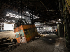 Leviathan #28 Basket (Broken Window Theory) Tags: geocaching decay leftbehind germany rotten rust remote travel urbex urbanexploration industry industrial industrieromantik hidden history vintage outdoor lostplace forbidden forgotten placehacking abandoned architecture awesome derelict dark ironworks steelmill steelworks
