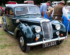 DYJ 624 Riley RM (kitmasterbloke) Tags: classiccar vintagecar rally essex colchester aldham truck automobile display outdoor transport pickup vehicle van concours motoring veterencar