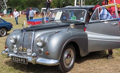 4224 PX Armstrong Siddeley Sapphire 1960 (kitmasterbloke) Tags: aldham colchester essex rally vintagecar classiccar veterencar truck van pickup vehicle concours display motoring automobile transport outdoor