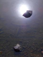 Eclipse (Nicole Thevenon) Tags: art mood illusion eclipse eau water pierre stone soleil sun