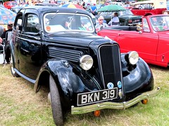 BKN 319 Ford Anglia before it became Popular (kitmasterbloke) Tags: aldham colchester essex rally vintagecar classiccar veterencar truck van pickup vehicle concours display motoring automobile transport outdoor