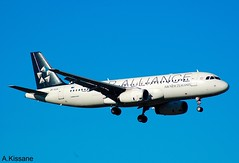 AIR NEW ZEALAND A320 ZK-OJH (Adrian.Kissane) Tags: landing aviation flying flight australia arriving sky outdoors airline airliner jet plane aircraft airbus aeroplane 2257 1212009 a320 zkojh melbourne airnewzealand