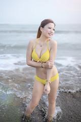 _MG_0329-1234 (shiyeu1) Tags: 比基尼 海邊 安平 沙灘