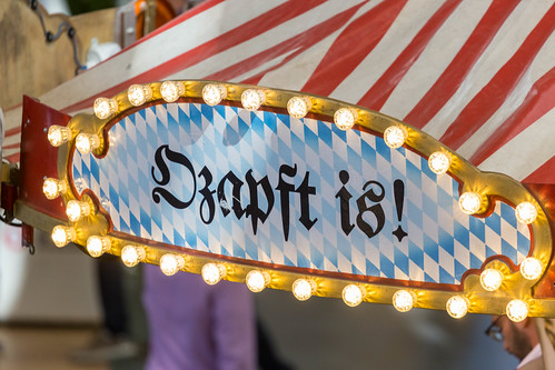 Typical Oktoberfest sign