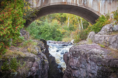 below Hwy 61 (jimmy_racoon) Tags: 70200 f4l is canon 5d mk2 north shore temperance river state park 2019 fall autumn minnesota nature 70200f4lis canon5dmk2 northshore temperanceriverstatepark