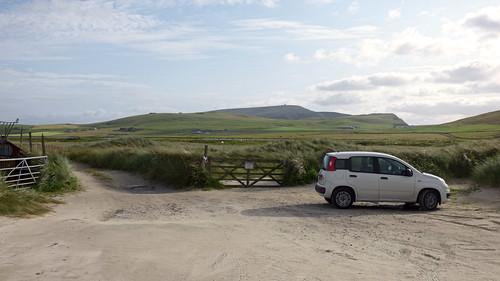 Spiggie beach, Henri II