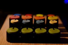 Macro Mondays: Knolling (Jean-Pierre Bérubé) Tags: « » macromondays knolling jpdu12 jeanpierrebérubé macro flickr nikon d5300 boutons alignés couleurs