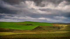 Sunlight on the moors (Tim Ravenscroft) Tags: landscape moorland moors denbigh clouds sunlight wales hasselblad hasselbladx1d