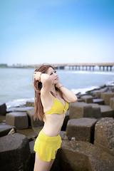 _MG_0003-123 (shiyeu1) Tags: 比基尼 海邊 安平 沙灘