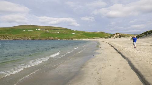 Spiggie beach, gordon