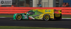 Inter Europol Competition #34 LMP2 (Andrew Harbey Photography) Tags: elms european le mans series silverstone circuit track race racing brooklands inter europol intereuropol competition lmp2 green yellow