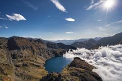 Étang Blaou, Pyrenees, France (StarCitizen) Tags: france mountains clouds autumn landscape water lake scenery beautiful pyrenees elitegalleryaoi bestcapturesaoi aoi