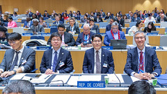 Delegates at the Opening of the WIPO Assemblies 2019 (WIPO | OMPI) Tags: wipo assemblies delegate republicofkorea ompi plenarysessions