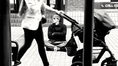 Walk on by..... (markwilkins64) Tags: london streetphotography street candid blackandwhite bw monochrome mono markwilkins