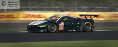 Spirit of Race #55 Ferrari 488 GTE (Andrew Harbey Photography) Tags: elms european le mans series silverstone circuit track race racing spirit ferrari 488 gte