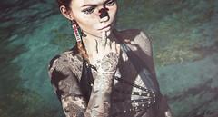 Flowers (Elise~Mersereau) Tags: amias dappa revoul kunst emarie girl portrait sl secondlife