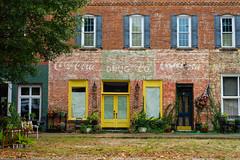 Colbert, GA (Todd Evans) Tags: sony alpha a7ii colbert georgia ga cocacola sign ghostsign smalltown town brick