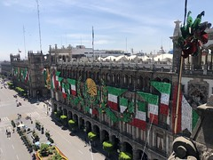 Zocalo during Independence Day (rojasmari) Tags: mexico zocalo independence flag celebration