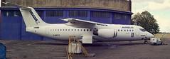 Photo of Airbus/Rolls Royce E-Fan X getting ready