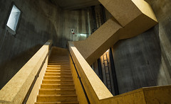 All along the watchtower (‹ Wim ›) Tags: sintjansklooster tower stairs stairway concrete netherlands overijssel wimgoedhart