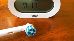Toothbrush with Timer (dr.kamihoss) Tags: dr kami hoss toothbrush