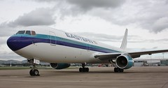 N703KW (Gary Kenney Aviation) Tags: eastern airlines b767 boeing usa retro glasgow airport airplane