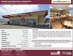 "FOR SALE: Owner/User Restaurant Opportunity  | Tucson AZ • <a style=""font-size:0.8em;"" href=""http://www.flickr.com/photos/63586875@N03/48822081311/"" target=""_blank"">View on Flickr</a>"