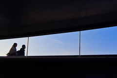 out the window (reiko_robinami) Tags: streetphotography street silhouette urban city color outdoors yokohama japan