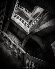 Reborn (Brice L) Tags: escalier stairs stairway renaissance stone castle inside wow