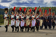 _MG_1650 (Mikhail Lukyanov) Tags: russia french men soldiers infantry war 1812 borodino