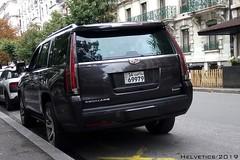 Cadillac Escalade - Kuwait (Helvetics_VS) Tags: licenseplate kuwait