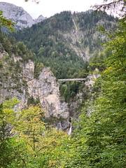 Marienbrücke from Neuschwanstein Castle (kepibear) Tags: europe marienbrücke schwangau marienbridge 2019 neuschwanstein germany iphonexsbackdualcamera6mmf24
