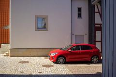 Wolfenbüttel (duesentrieb) Tags: architecture architektur auto building car cityscape deutschland fahrzeug fenster gebäude germany haus heinrichstadt house kfz kia kraftfahrzeug lowersaxony motorvehicle niedersachsen personenkraftwagen pkw rio stadtlandschaft vehicle window wolfenbüttel