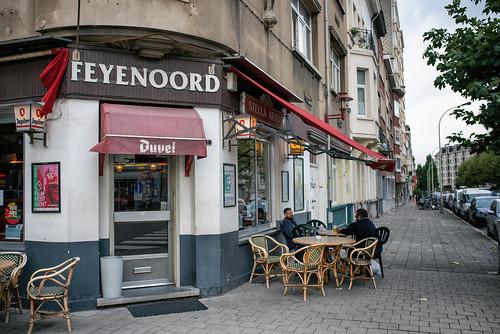 Café Feyenoord - Us By Night // Antwerpen