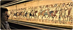 The Bayeux Tapestry, a unique artefact created in the 11th century (1) (Ioan BACIVAROV Photography) Tags: bayeuxtapestry artefact history 11thcentury masterpiece conquestofengland william dukeofnormandy 1066 embroidery bayeux tapestry art artistic normandia unique histoire normandie france